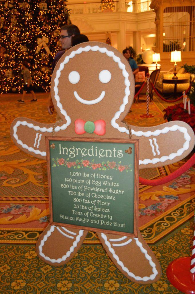 Walt Disney World Hotel Holiday Decorations