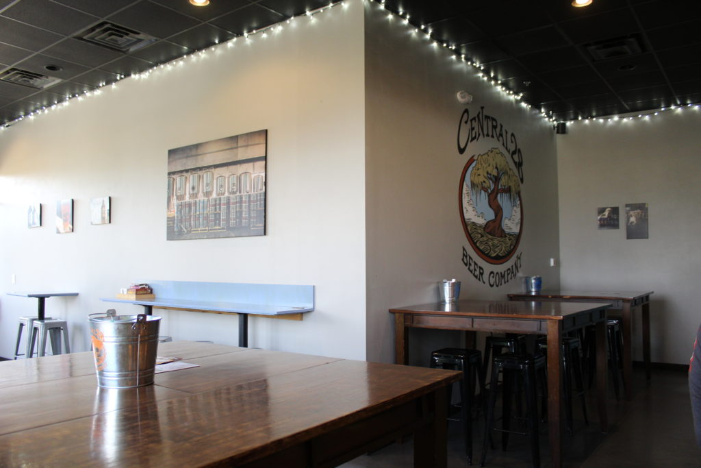 Central 28 Beer Company sitting area