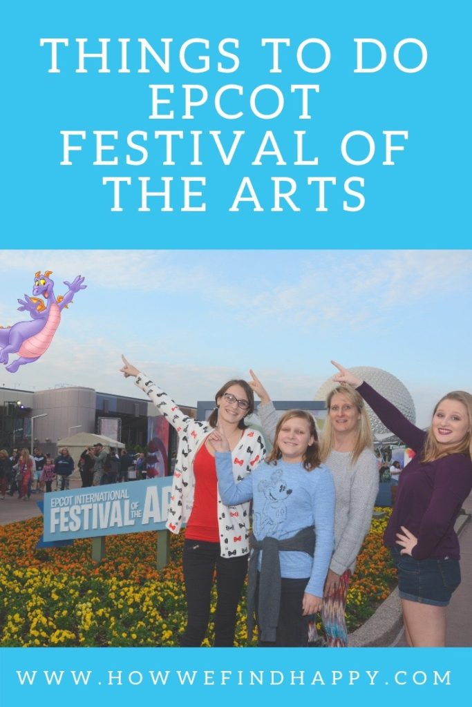 Epcot Festival of the Arts Things to Do