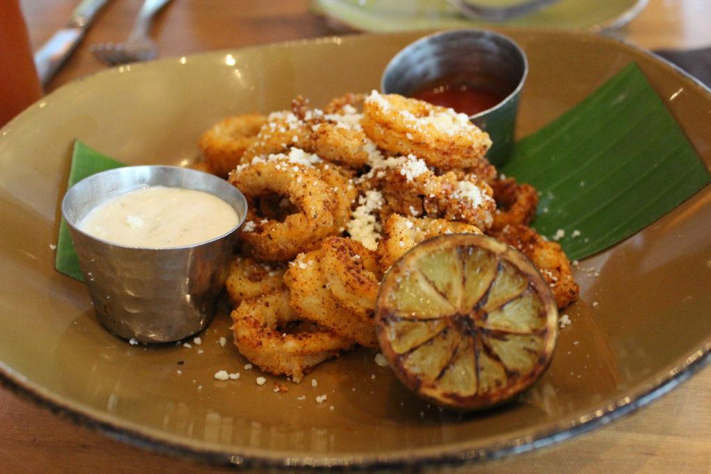 Crispy Chipotle Calamari on the new seasonal menu at Frontera Cocina