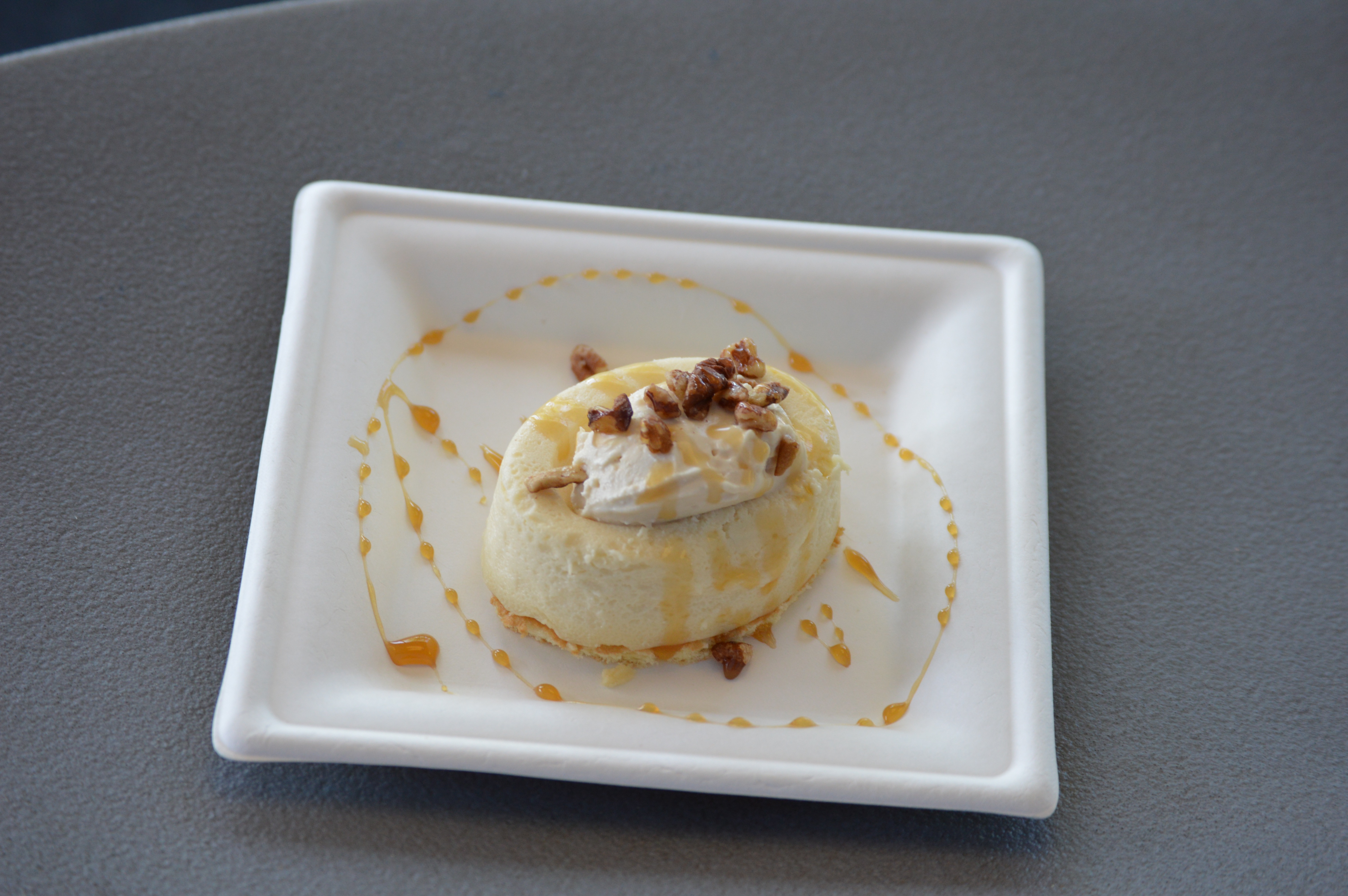 maple bourbon cheesecake from Epcot Food & Wine festival