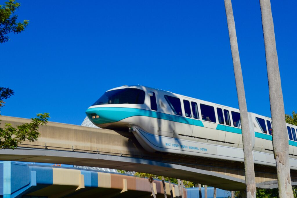 Disney's Monorail for Holiday Hotel  Hopping at Disney's Bay Lake