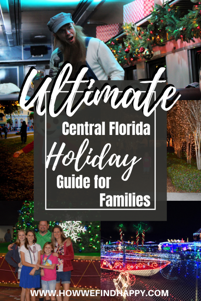 Ultimate central Florida holiday guide for families Pinterest
