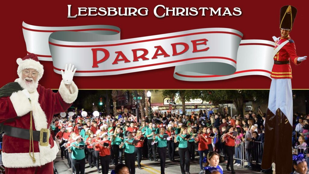 Central Florida Holiday guide for families Leesburg parade