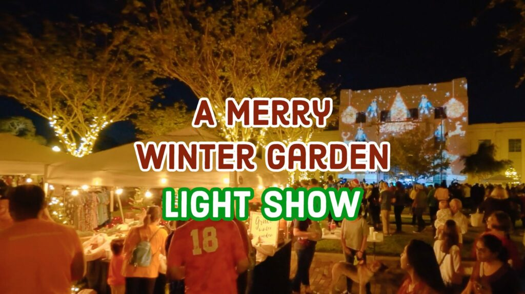 Holiday guide for families in Central Florida includes the Winter Garden Light show